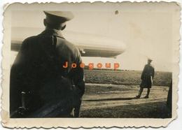 Photo Military Look At Airship Dirigible 1934 - War, Military