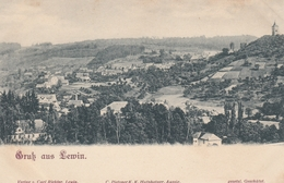 AK - Tschechien - Gruss Aus LEWIN (Levin) - Panorama Vom Raatschberg 1900 - Tschechische Republik