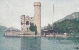 AK - OÖ - St. Wolfgang - Alter Leuchtturm Mit Dem Bad Vom Grand Hotel - 1920 - St. Wolfgang