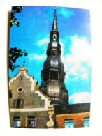 Small Calendar Pocket 1979 Year From Latvia Church Old Architecture - Tamaño Pequeño : 1971-80
