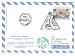 15297 - BALLON POST N° 86 - Centre International De Vienne