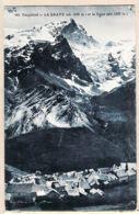 X05027 Curiosité ! La MEIJE 3787m  ( Réel +de 3900) GAUDE 681  - LA GRAVE Hautes-Alpes Altitude 1526 Mètres Village Du - France