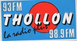 Autocollant Radio Thollon (74) - Stickers