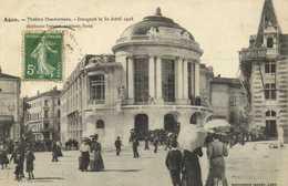 Agen Theatre Ducourneau Inauguré Le 30 Avril 1908 RV - Agen