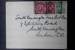 COVER WELLINGTON -> LONDON VIA GPO JOHANNESBURG 1 P PAIR 16-1-1899 - África Del Sur (...-1961)