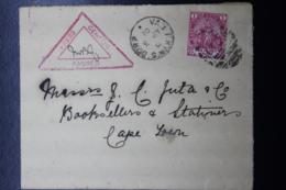 BOER WAR PERIOD COVER VAN RHIJNISDORP 253 -> CAPE TOWN CCENSOR CANCEL 3-4-1901 - Kaap De Goede Hoop (1853-1904)