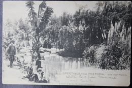 UNION POSTCARD PRETORIA -> LONDON  21-10-1907 - Zuid-Afrika (...-1961)