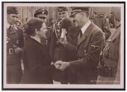 Dt-Reich (007670) Propagandakarte, Poto- Hoffmann, Der Führer An Der Ostfront, Gelaufen Nach Hamburg - Duitsland