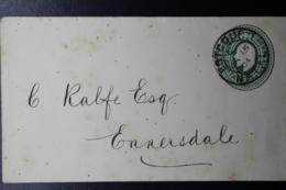 NATAL Cover U3 ESTCOURT -> ENNERSDALE 15-8-1904 - Natal (1857-1909)
