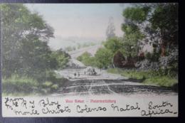 NATAL POSTCARD PIETERMARITZBURG FREDERIKSBORG HELSINFOR  22-12-1905  West Street PMB - Natal (1857-1909)