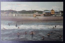 NATAL POSTCARD INTERPROVINCIAL DURBAN -> ANTWERP, 15-2-1911  OCEAN BEACH DURBAN - Natal (1857-1909)