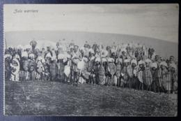 NATAL POSTCARD INTERPROVINCIALGLENDALE -> ANTWERP 7-6-1912 Zulu Warrriors - Natal (1857-1909)