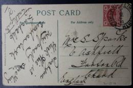 TRANSVAAL INTERPROVINCIAL PERIOD ALIWAL NORTH  -> CAPE  -> UK 3-3-1913 - Südafrika (...-1961)
