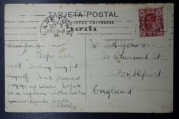 TRANSVAAL INTERPROVINCIAL PERIOD CAPETOWN -> UK 1913 - Sud Africa (...-1961)