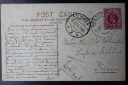 NATAL INTERPROVINCIAL PERIOD PRETORIA -> DIEREN HOLLAND 17-7-1911 PRETORIA COLLEGE - Natal (1857-1909)