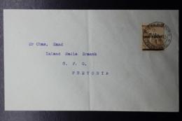 NATAL INTERPROVINCIAL PERIOD PIETERSBURG TRANSVAAL -> PRETORIA  SG 57 - Südafrika (...-1961)