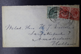 NATAL INTERPROVINCIAL PERIOD LIJDENBURG TRANSVAAL -> AMSTERDAM MIXED FRANKING UNION / TRANSVAAL 10-11-14 - Transvaal (1870-1909)