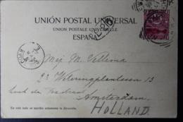 CAPE OF GOOD HOPE POSTCARD FROM MADEIRA NEWIAM -> AMSTERDAM 20-3-1901 - Südafrika (...-1961)
