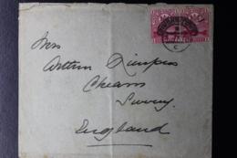 CAPE OF GOOD HOPE COVER SIMONSTOWN -> UK PAIR OF SG 69  3-7-1901 - Südafrika (...-1961)