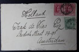 CAPE OF GOOD HOPE COVER KROONAP -> FORT BEAUFORT -> AMSTERDAM 30-12-1905 - Südafrika (...-1961)