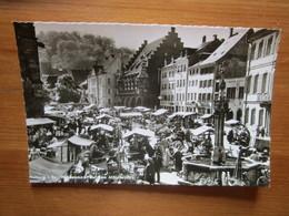 Freiburg Im Breisgau. Wachenmarkt Auf Dem Munserplatz. Burda 22/75 - Freiburg I. Br.