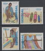 Senegal (2009) - Set -  /  Textil - Textile - Artcraft - Tapestries - Weaving - Tisserands - Tissage - Textile