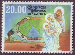 CEYLON SRI LANKA [1995] MiNr 1095 ( O/used ) Weihnachten - Sri Lanka (Ceylan) (1948-...)
