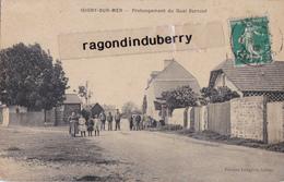 CPA - 14 - ISIGNY-sur-MER - (Calvados) Prolongement Du Quai Surcouf - CARTE RARE - Voy En 1912 édit LANGLOIS TABAC - Autres Communes