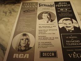 ANCIENNE PUBLICATION PROGRAMME SPECTACLE DE PARIS 1968 - Publicité