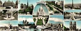 CPSM Souvenir De Paris - Souvenir De...