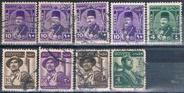 Egipto 1944 / 55  -  Varios  ( Usados ) - Egipto