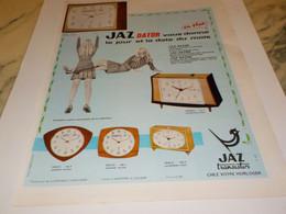 ANCIENNE PUBLICITE DATOR UNE  JAZ TRANSISTOR 1968 - Publicités