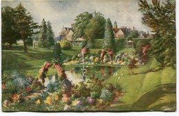 CPA - Carte Postale - Royaume-Uni - The Monk's Garden - Knole - 1919 (M7819) - England