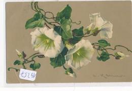 CPA - 19257 - Illustrateurs - Motif Floral Par  Catharina Klein (pli) - Envoi Gratuit - Klein, Catharina