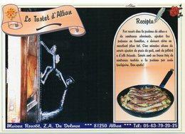 Recette Maison Roustit 81 Albi : Le Tustet D'Alban - N° 7 - Réalisation Sarl Cible - TBE - Recettes (cuisine)