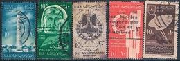 Egipto 1961  -  Yvert 493 + 494 + 498 + 499 + 502 + 514 + 516  ( Usados ) - Egipto