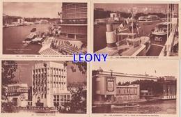"""LOT  De  6 CPSM 9X14   """"  EXPOSITION  INTERNATIONALE - PARIS 1937 """" - Expositions"""