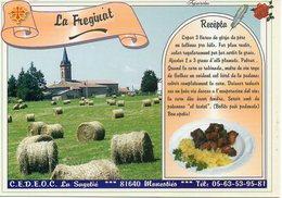 Recette La Sagétié 81 Monestiés : Le Fréginat - N° 16 - Réalisation Sarl Cible - TBE - Recettes (cuisine)