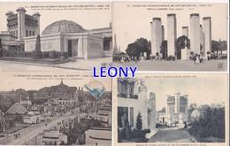 """LOT  De  5 CPSM 9X14   """"  EXPOSITION  INTERNATIONALE Des ARTS DECORATIFS - PARIS 1925 """" - Expositions"""