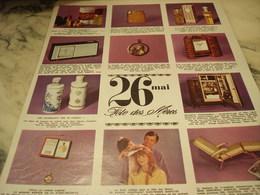 ANCIENNE PUBLICITE FETE DES MERES 1968 - Publicité