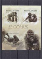 Gorilles - Burundi - COB BF 480 ** - MNH - NON Dentelés - Valeur 36 Euros - Gorilles
