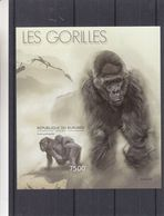 Gorilles - Burundi - COB BF 481 ** - MNH - NON Dentelés - Valeur 35 Euros - Gorilles