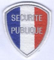 Insigne De Bras Securité Publique - Police & Gendarmerie