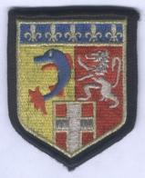 Insigne De Bras De La Compagnie De Circulation Routière De Gendarmerie Rhône Alpes - Police & Gendarmerie