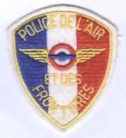 Insigne De Bras De La Police De L'Air Et Des Frontières - Police & Gendarmerie