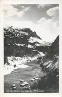 """CPSM FRANCE 74 """"Lac De Flaine Sur Carroz"""" - France"""
