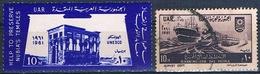 Egipto 1961  -  Yvert 502 + 514  ( Usados ) - Egipto