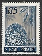 St Thomas & Principe  1948   Sc#346   1$75  Local Fruits  MLH  2016 Scott Value $4 - St. Thomas & Prince