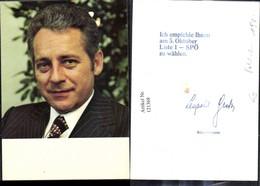 121368,Leopold Gratz Bürgermeister V. Wien Politik - Politische Und Militärische Männer