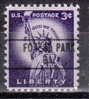 USA Precancel Vorausentwertung Preo, Locals Georgia, Forest Park 748 - Vereinigte Staaten
